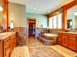 bathrooms optimize the space